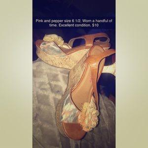 Pink & Pepper Shoes - Heels
